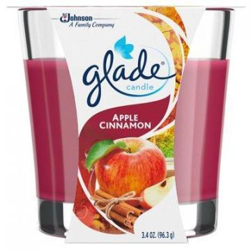 SC Johnson Glade 4-oz. Apple Cinnamon Scented WaxCandle