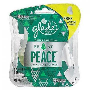 SC Johnson Glade Holiday Plug-In With Free Warmer, Spruce Scent