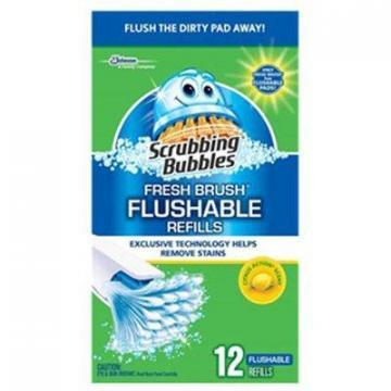 SC Johnson Scrubbing Bubbles 12-Count Citrus Fresh Flushable Pad Refill