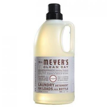 SC Johnson Mrs. Meyer's Clean Day Laundry Detergent, Lavender Scent, 64-oz.