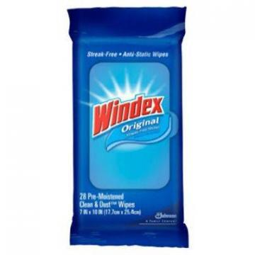SC Johnson Windex Glass & Surface Wipes, 28-Ct.