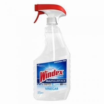 SC Johnson Windex Multi-Surface Cleaner, With Vinegar, 26-oz.