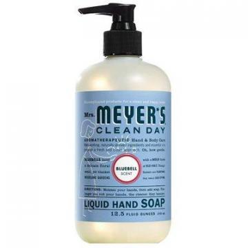 SC Johnson Mrs. Meyer's Clean Day Liquid Hand Soap, Blue Bell, 12.5-oz.