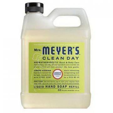 SC Johnson Mrs. Meyer's 33-oz. Clean Day Lemon Scent Liquid Hand Soap Refill