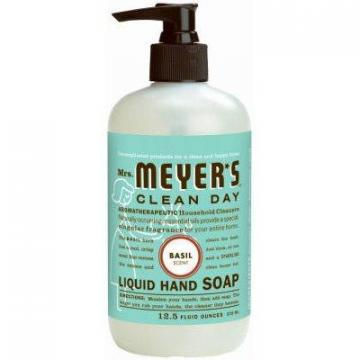 SC Johnson Mrs. Meyer's 12.5-oz. Clean Day Basil Scent Liquid Hand Soap