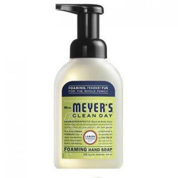SC Johnson Mrs. Meyer's Clean Day Foaming Hand Soap, Lemon, 10-oz.