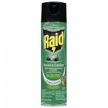 SC Johnson Raid House & Garden Insect Killer, 11-oz.  Aerosol