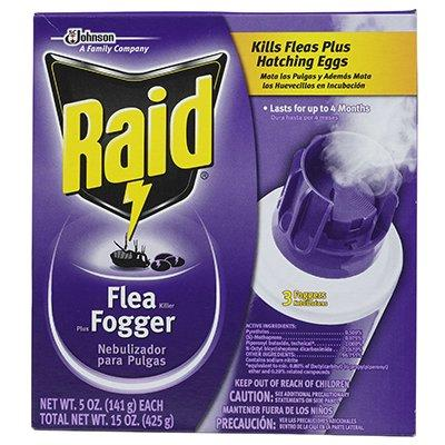 SC Johnson 3-Pack 5-oz. Flea Killer Plus Fogger
