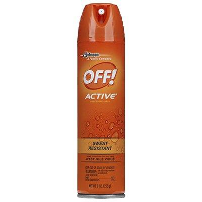 SC Johnson Off! Active Mosquito Repellent,9-oz.