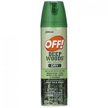 SC Johnson Off! Deep Woods Dry Insect Repellent, 4-oz. Aerosol