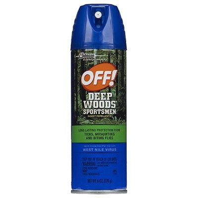 SC Johnson Off! Deep Woods Sportsman's Repellant, 6-oz.