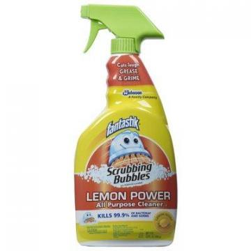 SC Johnson Fantastik 32-oz. Lemon Antibacterial Cleaner