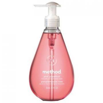 Method Gel Hand Soap, Pink Grapefruit, 12-oz.