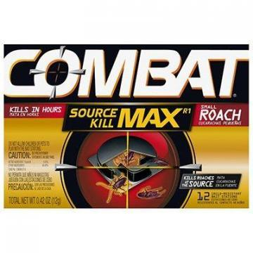 Dial Combat Quick-Kill Roach Bait, 12-Count