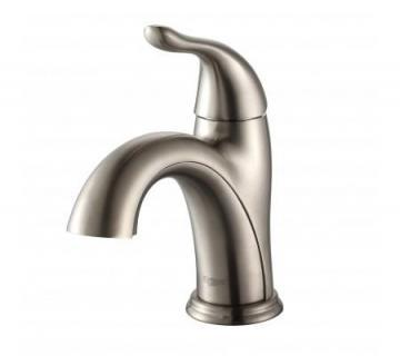 Kraus Arcus Single-Lever Basin Faucet Satin Nickel Finish