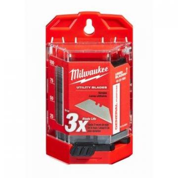 Milwaukee Utility Blades With Dispenser, 100-Pc.