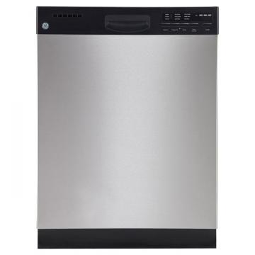 "GE 24"" Built-In Dishwasher with Stainless Steel Tub in Stainless Steel"