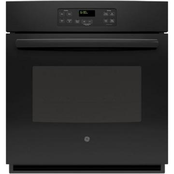 "GE 4.3 cu. ft. 27"" Electric Single Wall Oven in Black"
