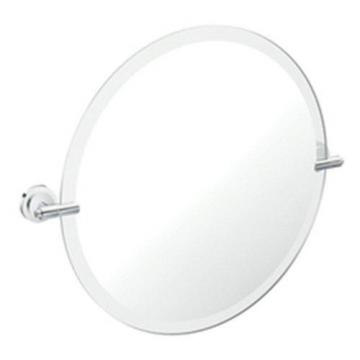 Moen Iso Chrome Mirror with Pivoting Decorative Hardware