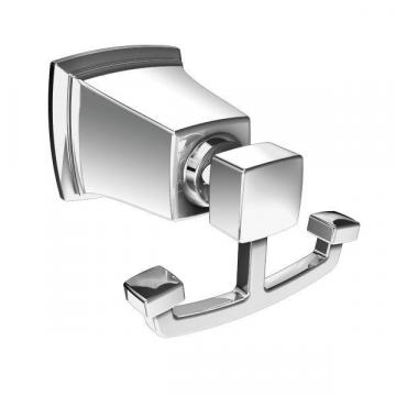 Moen Boardwalk Double Robe Hook - Chrome