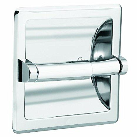 Moen Donner Recessed Toilet Paper Holder - White
