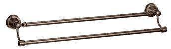 Moen Bradshaw Double Towel Bar, Oil Rubbed Bronze - 24""