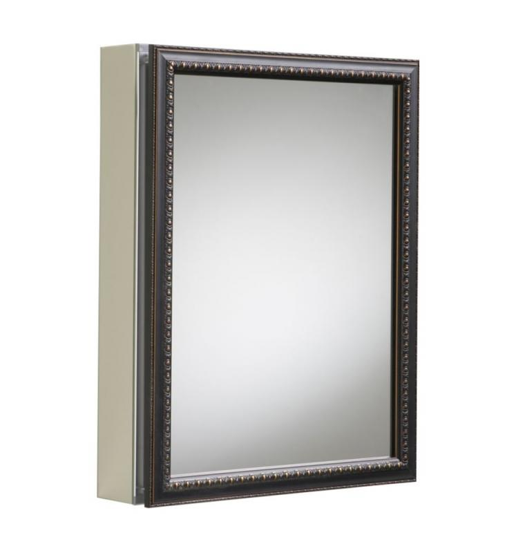 Kohler Aluminum Cabinet With Oil-Rubbed Bronze Framed Mirror Door in Oil-Rubbed Bronze