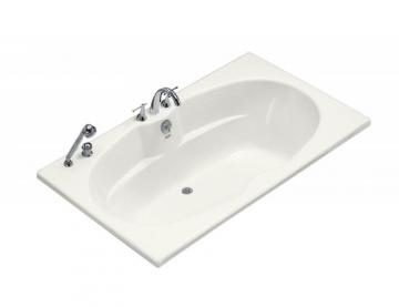 Kohler 6' Drop-in or Alcove Bathtub in White
