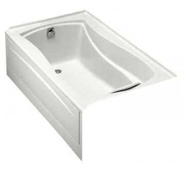Kohler Mariposa 5' Bathtub with Integral Tile Flange and Left-Hand Drain in White