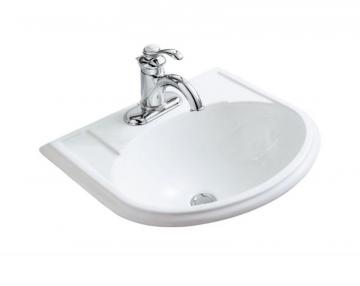 Kohler Devonshire Self-Rimming Bathroom Sink in White