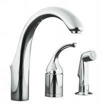 Kohler Forté Entertainment Remote Valve Sink Faucet In Polished Chrome