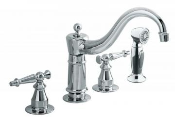Kohler Antique Kitchen Sink Faucet In Polished Chrome