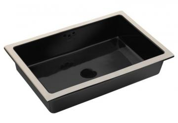 Kohler Kathryn Undercounter Lavatory With Glazed Underside in Black Black