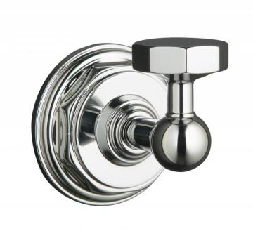 Kohler Pinstripe Robe Hook in Polished Chrome