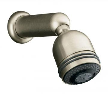 Kohler Mastershower Relaxing 3-Function Showerhead in Vibrant Brushed Nickel
