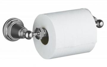 Kohler Pinstripe Toilet Tissue Holder in Polished Chrome