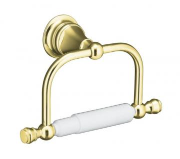 Kohler Revival Toilet Tissue Holder in Vibrant Polished Brass