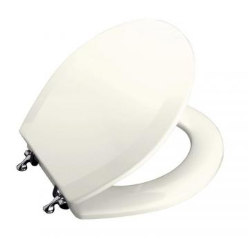 Kohler Triko Round Closed Front Toilet Seat in Biscuit