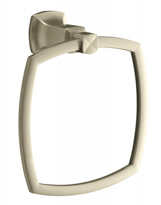 Kohler Margaux Towel Ring in Vibrant Brushed Nickel