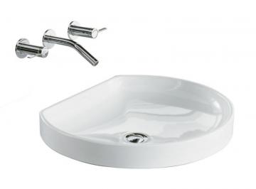 Kohler Watercove Wading Pool Vessel Sink in White