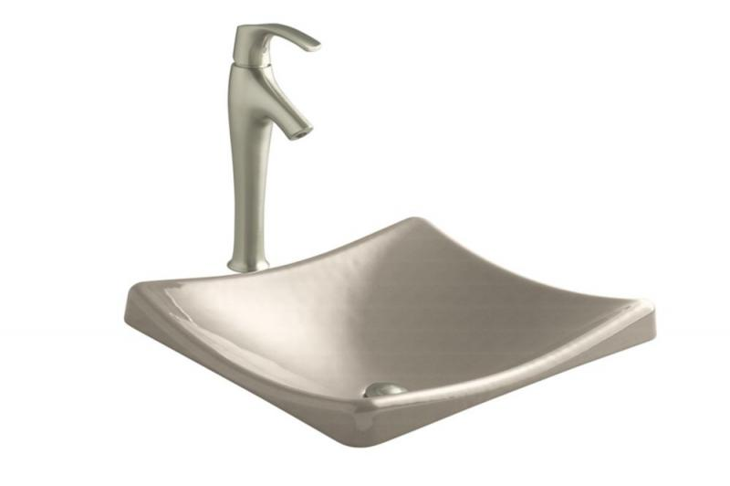 Kohler Demilav Wading Pool Vessel Sink in Cane Sugar
