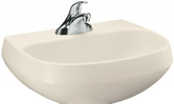 Kohler Wellworth Bathroom Basin in Almond