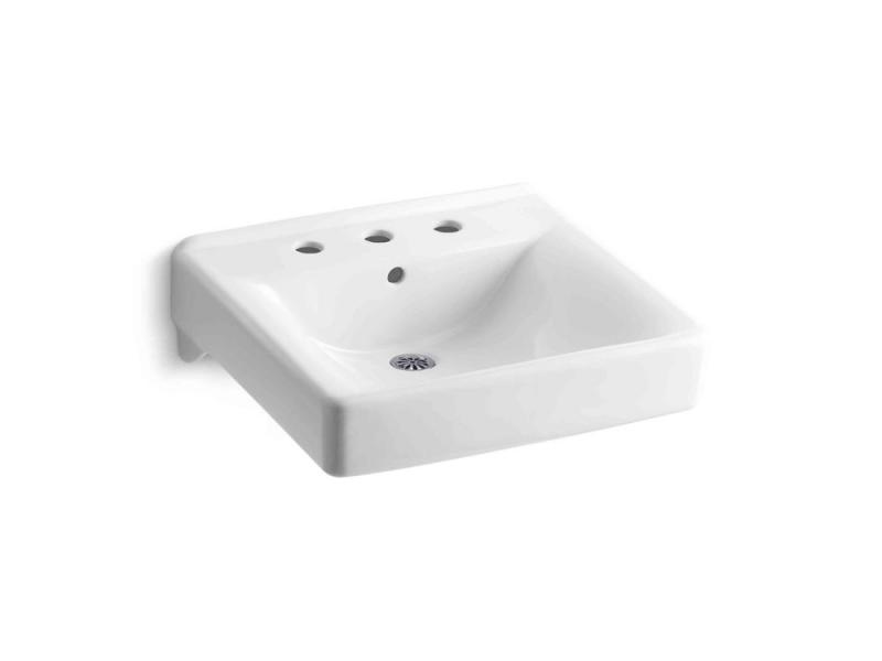 Kohler Soho Wall-Mount Bathroom Sink in White