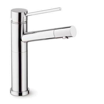 Blanco Single Lever, Solid Spout Bar Faucet, Stainless Steel