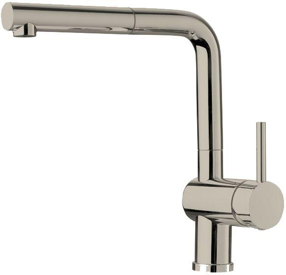 Blanco Single-Lever Pull-Out Faucet, Stainless Steel