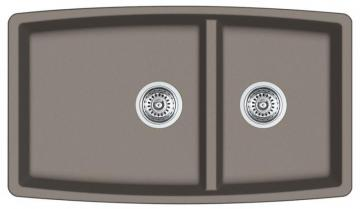 Blanco Silgranit, Natural Granite Composite Undermount Kitchen Sink, Truffle