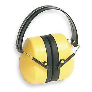 Condor 25dB Over-the-Head Ear Muffs, Yellow