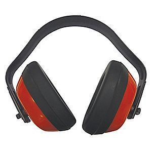 Condor 21dB Multi-Position Ear Muffs, Red