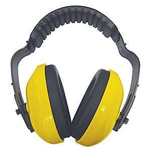 Condor 19dB Over-the-Head Ear Muffs, Yellow
