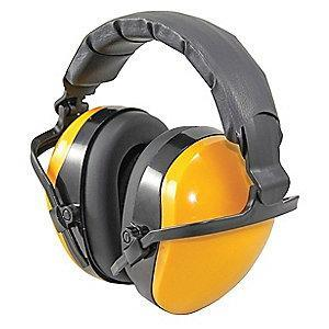 Condor 25dB Folding Ear Muffs, Yellow